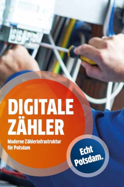Flyer Digitale Zähler